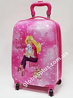 Детский чемодан дорожный Барби 2,  Вarbie 2 на четырех колесах 520312, фото 1