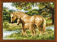 """Набор для вышивания """"Лошадь с жеребенком"""""""