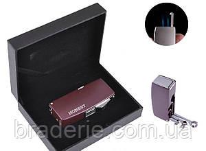 Зажигалка подарочная в коробочке Honest 3008 для сигар, фото 2