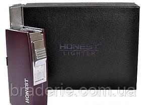 Зажигалка подарочная в коробочке Honest 3008 для сигар, фото 3