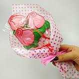 Пряничный букет роз, фото 2