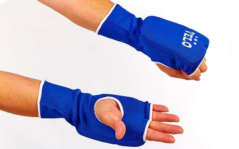 Накладки для карате VELO синие ULI-10019-B