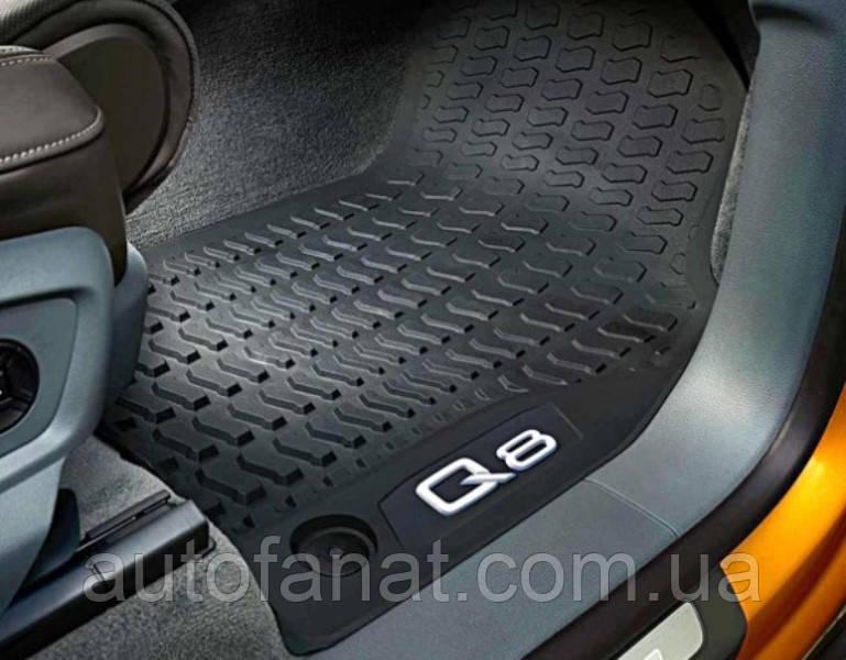 Комплект оригинальных ковриков салона Audi Q8 (4M8061501041)