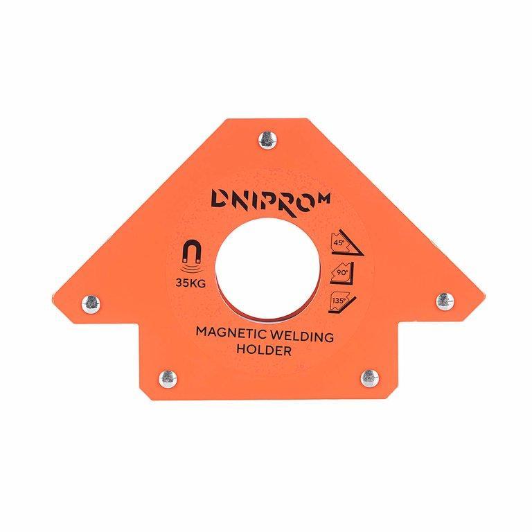 Магнитный угольник для сварки Dnipro-M MW-3413 (81399003)