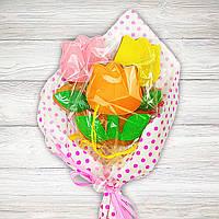 Пряничный букет тюльпанов