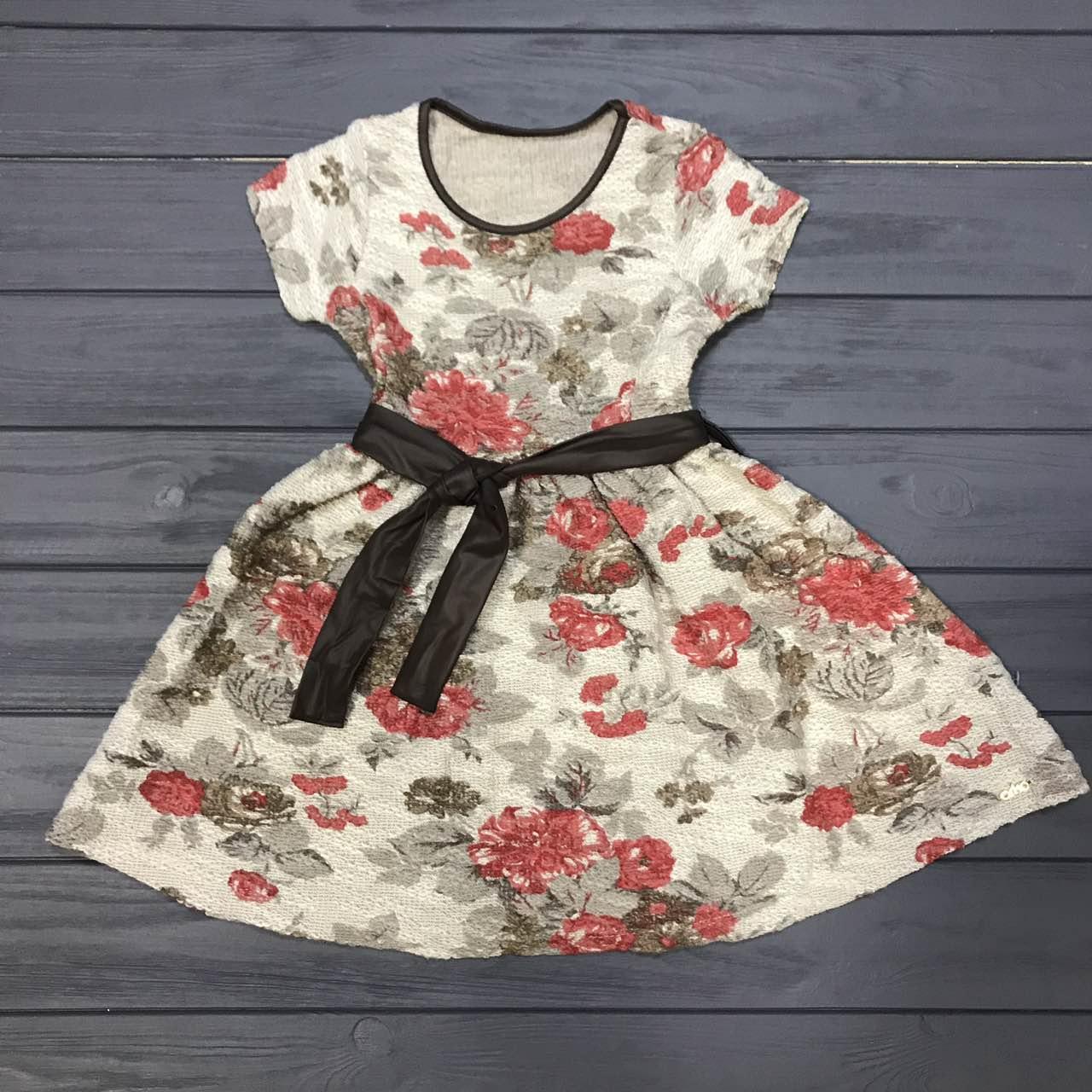 Детская одежда оптом Платье нарядное для девочек Orko оптом р.4-7 лет