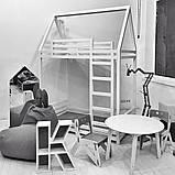 Детская кроватка Домик Двухэтажная, фото 2