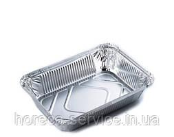 """Прямоугольные алюминиевый контейнеры с  крышкой с""""L"""" бортом SP62L 218x113х54мм, 900 мл"""
