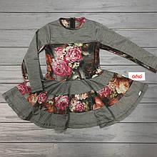 Детская одежда оптом Платье нарядное для девочек Orko оптом р.104 и 116