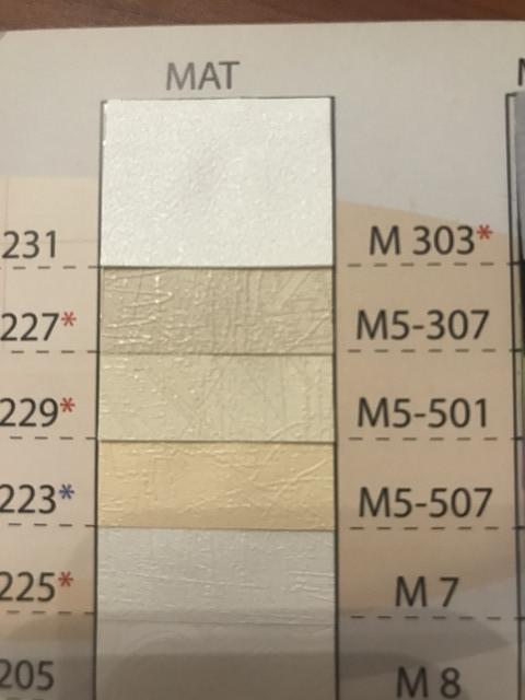 Матовые натяжные потолки Франция белые М7