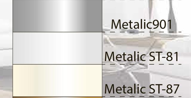 Эксклюзивные натяжные потолки Франция Metalic 901