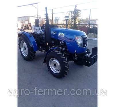 Трактор DW404А (4 цил, доп. вантажі, 7,50-16/11,2-24)
