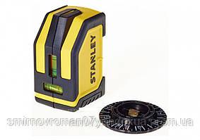 Рівень лазерний STANLEY; дальність - 4.5 м; похибка - 3 мм на 3 м