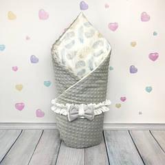 Конверты-одеяла на выписку для новорождённых