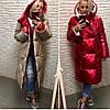 Женская модная двусторонняя куртка-пальто Дуэт Батал