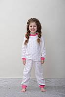 Теплая пижама для девочки с начесом. Утепляйте сон ребёнка!