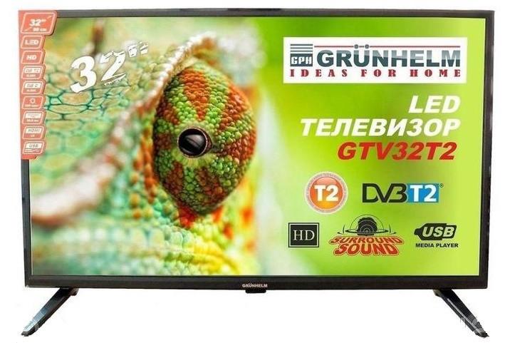 Телевизор Grunhelm GTV32T2 32 дюйма HD