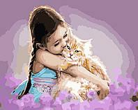 Художественный творческий набор, картина по номерам Детская нежность, 50x40 см, «Art Story» (AS0454), фото 1