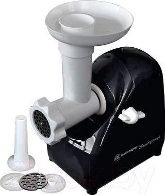 Мясорубка электрическая Белвар Помощница КЕМ-П2У мод. 302-07 (черная)