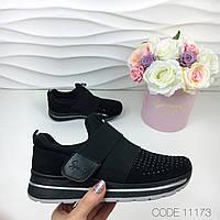 Стильные женские кроссовки. Цвет- Черный. Дропшиппинг. Склад.