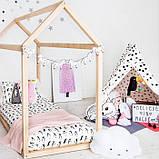 Детская кроватка Домик Напольная, фото 5