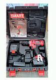 Шуруповерт аккумуляторный SMART SCD-0018Li 2 Ah 2 Аккумулятора, фото 3