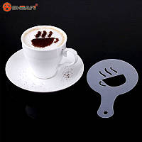 Трафареты для кофе, капучино, десертов., фото 1