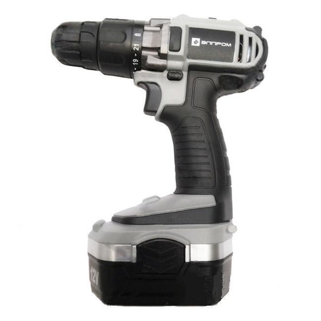 Шуруповерт аккумуляторный Элпром ЭДА-12-2 Ni-Cd