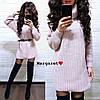 Женское платье -туника РАЗНЫЕ ЦВЕТА Код. Е1113-0098 - Фото