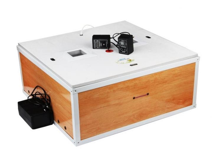Инкубатор цифровой Курочка Ряба ИБ-80 с автоматическим переворотом яиц и вентилятором