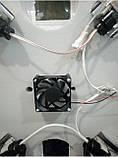 Инкубатор цифровой Курочка Ряба ИБ-80 с автоматическим переворотом яиц и вентилятором, фото 5