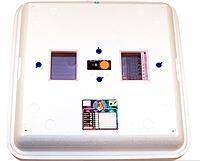 Инкубатор цифровой Рябушка 150 яиц Smart plusлитой с ТЭНом и вентилятором, фото 1