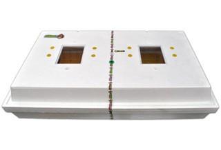 Інкубатор цифровий Рябушка на 100 яєць автоматичний переворот, з литим корпусом, Теном і вентилятором