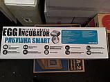 Інкубатор цифровий Рябушка на 100 яєць автоматичний переворот, з литим корпусом, Теном і вентилятором, фото 7