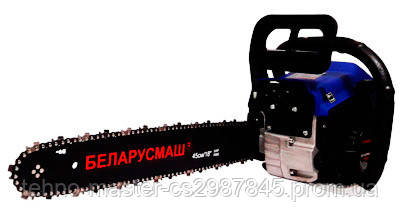 Бензопила Беларусмаш ББП-6700 Металл Праймер Плавный пуск 2 Шины + 2 Цепи
