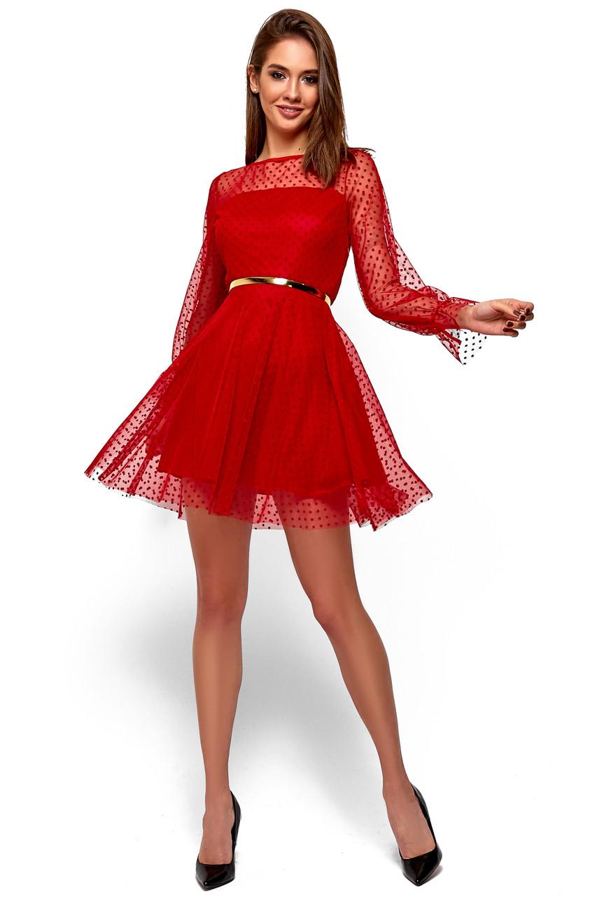 """Красивое женское платье """"Брайни Ред"""""""