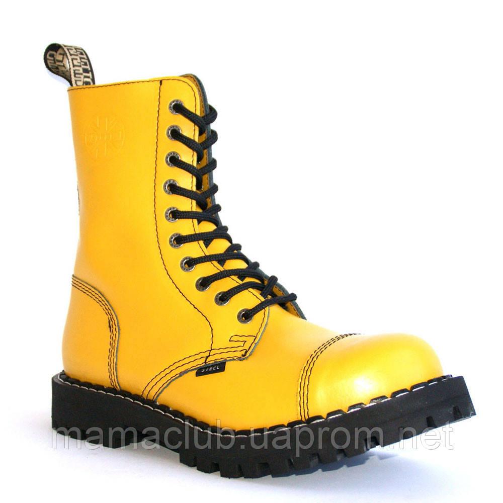 336986989 Зимние берцы Steel с шерстью желтые 10 дырок 105/106/O/F.YEL, Размер 46, цена  2 551 грн., купить в Львове — Prom.ua (ID#873752818)