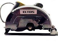 Пила дисковая Eltos ПД-185-2200 в метале. Элтос