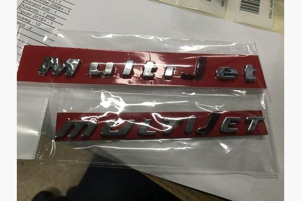 Значек Multijet (самоклейка) Opel