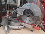 Пила торцовочная Kraissmann 2100 GSI 305 Индукционный двигатель. Торцовочная пила Крайсман, фото 4