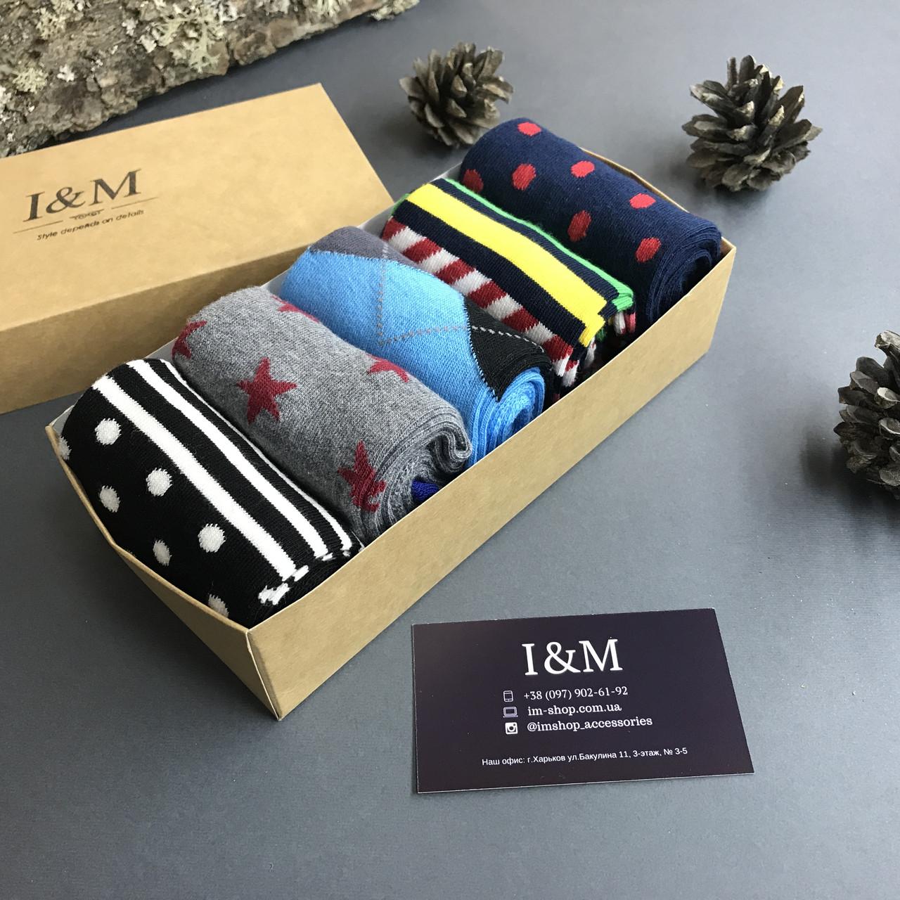Набор носков I&M Craft  из 5-ти пар (070125)
