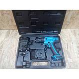 Шуруповерт аккумуляторный KRAISSMANN 1300 ABS 12/2 LI. Шуруповерт Крайсман 2 аккумулятора, фото 2