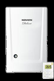 Котел газовый Deluxe Coaxial-24K двоконтур турбо Navien+комплект для системы дымоудаления