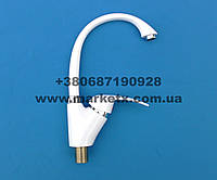 Белый пластиковый смеситель для кухни на кухню для мойки кухонный UDU , фото 1