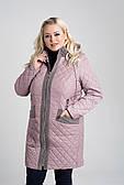 Демисезонная куртка «Рима» большого размера