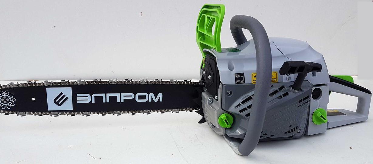 Бензопила Элпром ЭПБ-7000 2 шины + 2 цепи. Бензопила Элпром