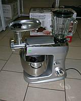 Новый немецкий кухонный комбайн с блендером и мясорубкой Royalty Line PKM-2100BG из Германии с гарантией