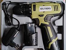 Шуруповерт акумуляторний Eltos ТАК-12 Li-Ion