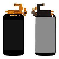 Дисплей (LCD) Motorola XT1620 Moto G4/ XT1621/ XT1622/ XT1624/ XT1625/ XT1626 + сенсор чёрный