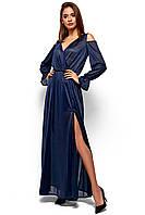 """Платье длинное из шифона с люрексом """"Голди Найт"""""""